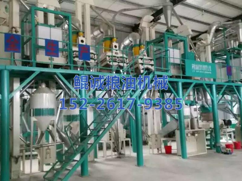 200吨玉米深加工机械